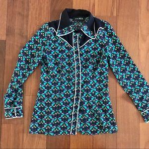 "Style Mafia button down ""cowboy-like"" shirt."